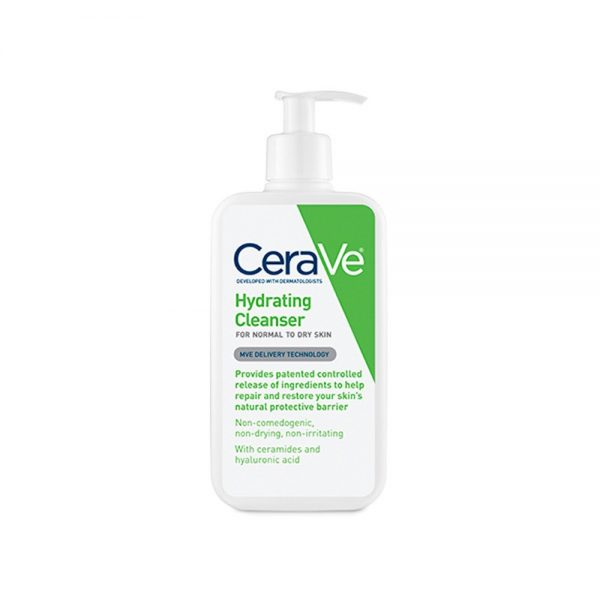 CeraVe Hydrating Cleanser, repair and restore skin