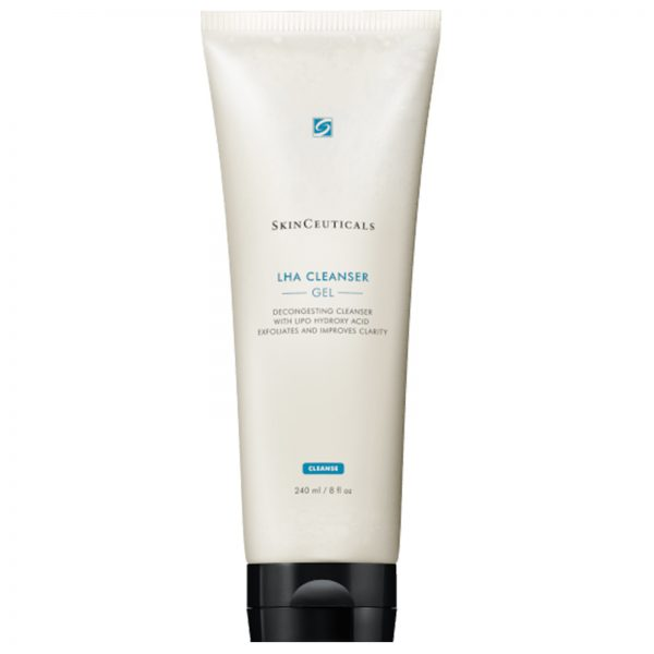 SkinCeuticals LHA Cleanser Gel 240 ml, decongesting cleanser