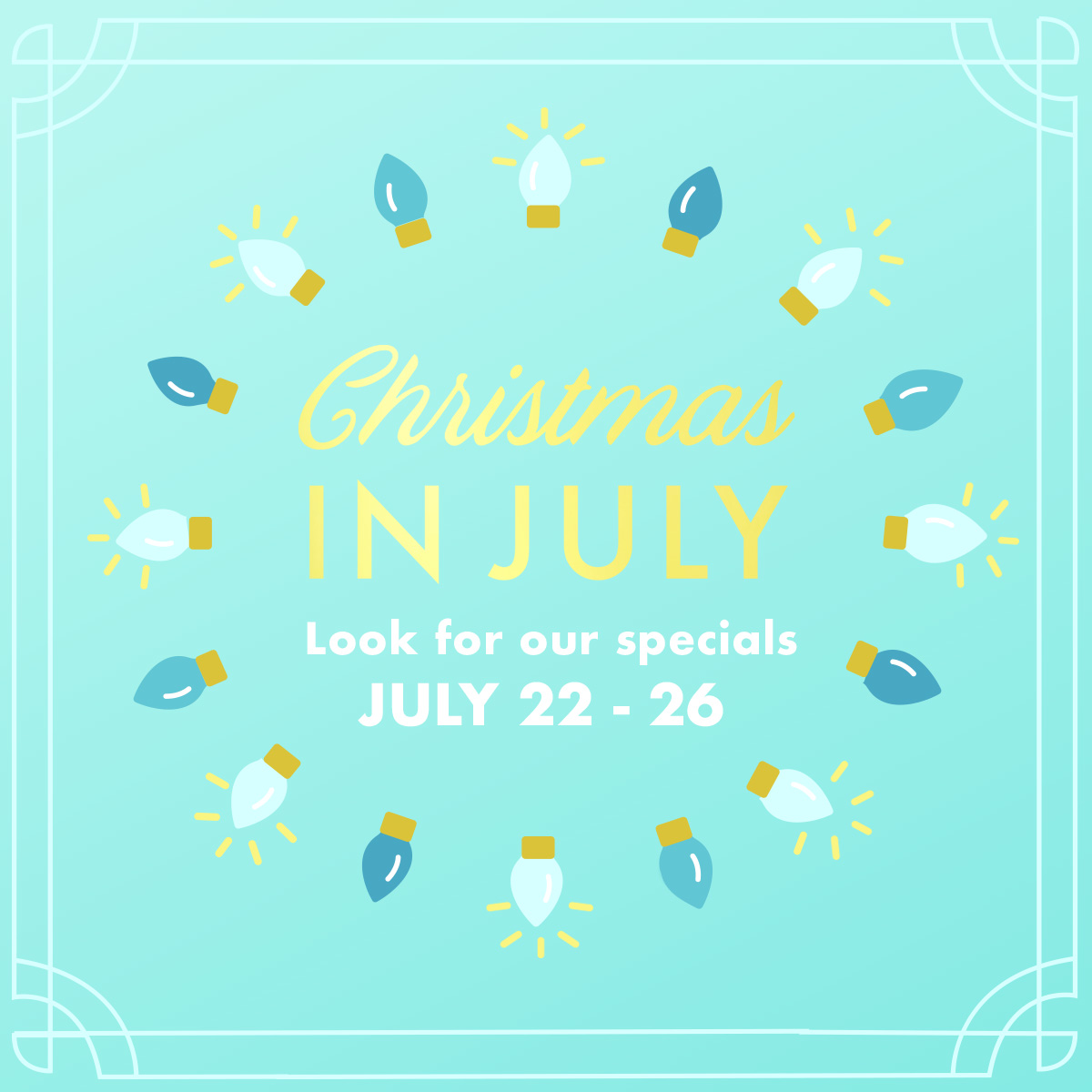 Dermatology Special, Christmas in July